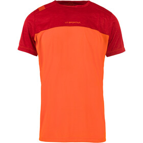 La Sportiva Crunch T-Shirt Men pumpkin/chili
